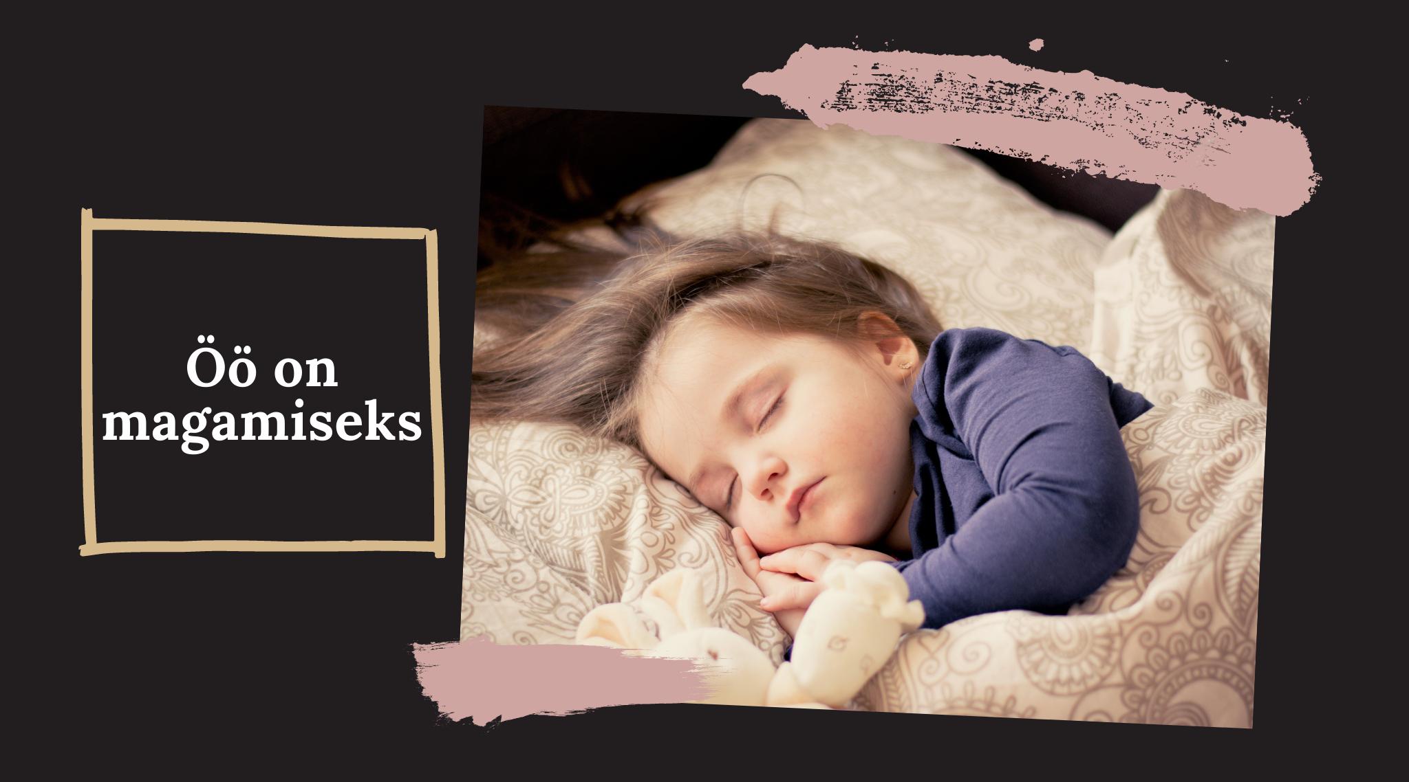 Unenõustaja beebi ei maga